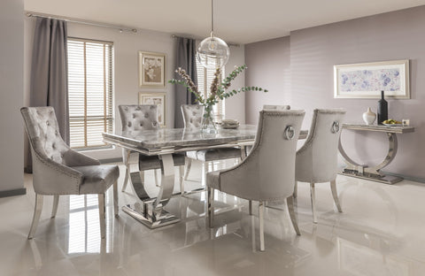 Image of Arizona Dining Chair | HOS Home | Mirrored furniture | Affordable Luxury