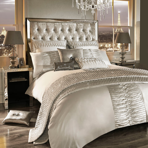 'Atmosphere' Quilt Cover - Mirrored furniture - Sparkle Diamond - House of Sparkles