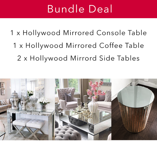 Hollywood Mirrored Living Bundle