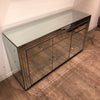 Classic Mirror 3 Drawer 3 Door Cabinet - Mirrored furniture - Sparkle Diamond - House of Sparkles