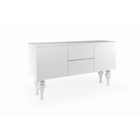 LARGE SIDEBOARD HIGH GLOSS - Mirrored furniture - Sparkle Diamond - House of Sparkles