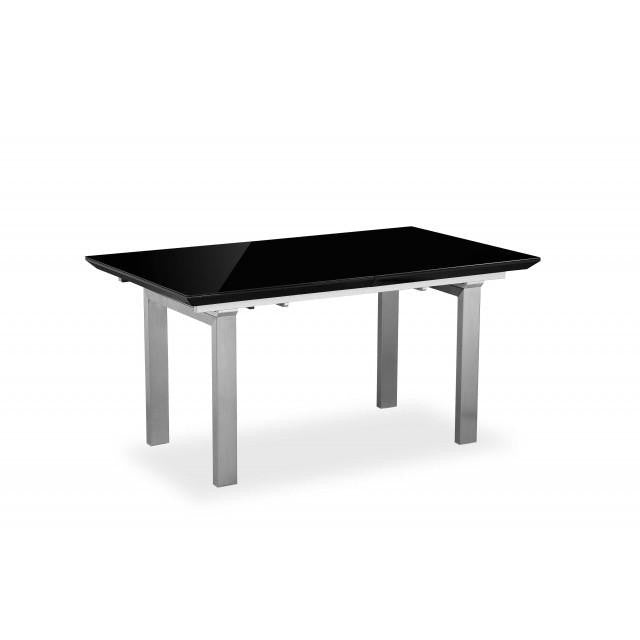 EXTENDING DINING TABLE HIGH GLOSS - Mirrored furniture - Sparkle Diamond - House of Sparkles