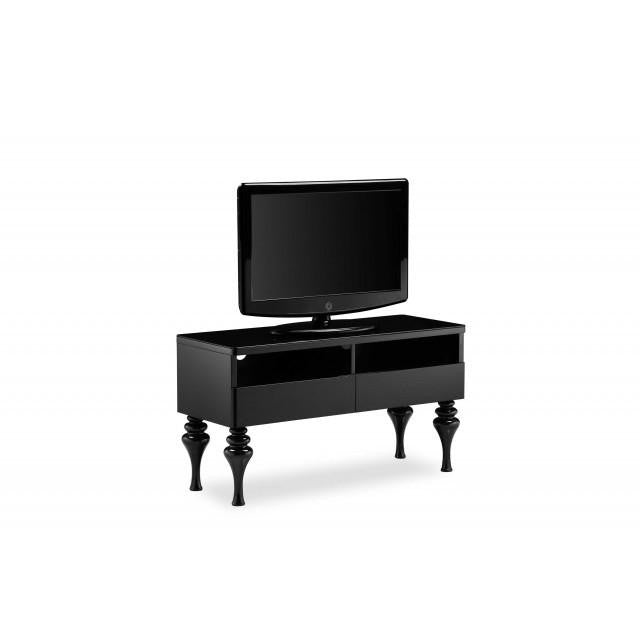 SMALL TV UNIT HIGH GLOSS - Mirrored furniture - Sparkle Diamond - House of Sparkles