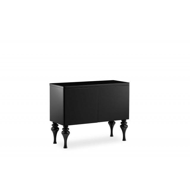 SMALL SIDEBOARD HIGH GLOSS - Mirrored furniture - Sparkle Diamond - House of Sparkles