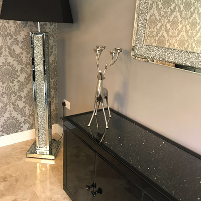 Diamond Crush 3 Dimensional Floor Lamp-PRE ORDER FOR JANUARY  2019
