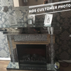 Diamond Crush Fire Place with Electric Fire - Mirrored furniture - Sparkle Diamond - House of Sparkles