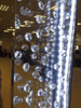Floating Crystal LED Wall Mirror - Mirrored furniture - Sparkle Diamond - House of Sparkles