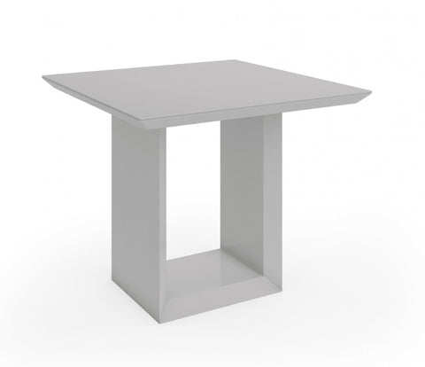 SQUARE DINING TABLE HIGH GLOSS - Mirrored furniture - Sparkle Diamond - House of Sparkles