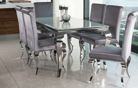 Image of Skyline White Coffee Table - Mirrored furniture - Sparkle Diamond - House of Sparkles