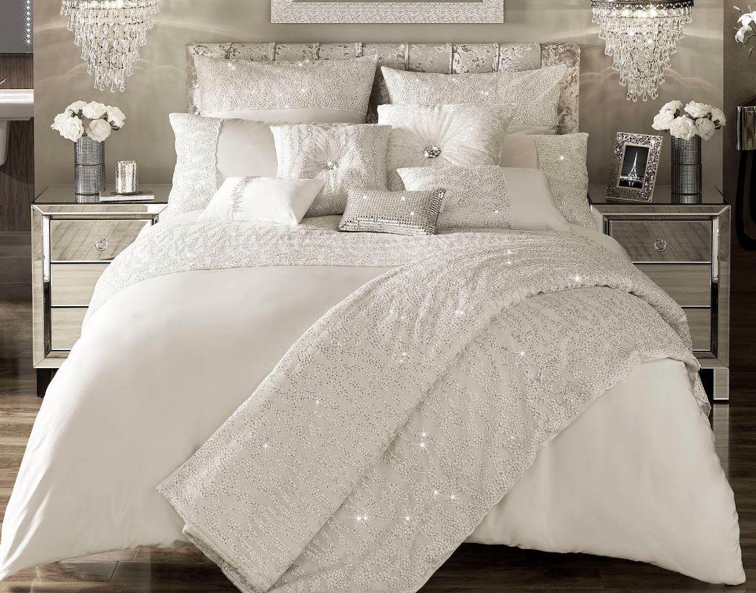 Kylie - Darcey Square Pillowcase