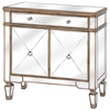 The Belfont One Drawer Two Door Mirrored Cupboard