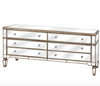 Belfont Mirrored Six Drawer Mirrored Chest of Drawers - Mirrored furniture - Sparkle Diamond - House of Sparkles
