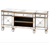 The Belfont Collection Mirrored Media Unit