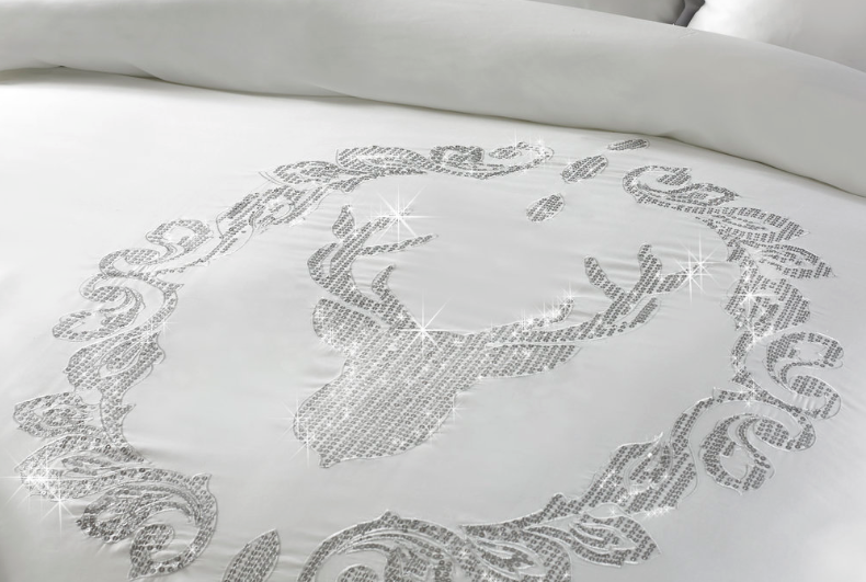 By Caprice - Serenity Duvet Cover | HOS Home | Mirrored furniture | Affordable Luxury