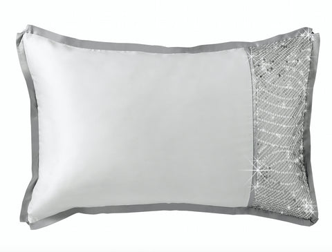 By Caprice - Sensi Pillowcase Pair - Mirrored furniture - Sparkle Diamond - House of Sparkles