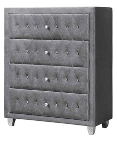 Alessia Chest of Drawers | HOS Home | Mirrored furniture | Affordable Luxury