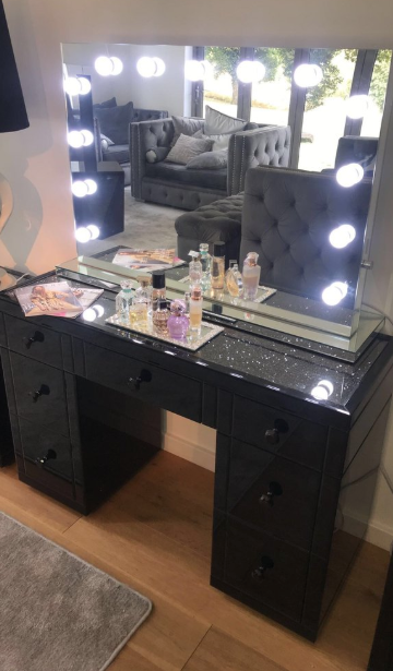 Black Mirror Crush Bedroom Bundle | HOS Home | Mirrored furniture | Affordable Luxury