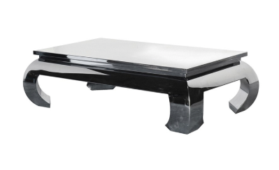The Buckingham Rectangular Chrome Coffee Table