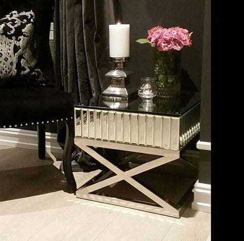 The Gatsby Classic Mirror Side Table