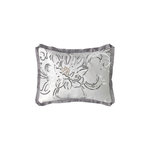 By Caprice - Valeria Floral Cushion Cover - Mirrored furniture - Sparkle Diamond - House of Sparkles