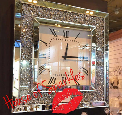 Diamond Crush Wall Clock