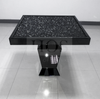 Black Mirror Crush Dining Table - Mirrored furniture - Sparkle Diamond - House of Sparkles