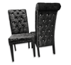 Luxury Button Back Dining Chairs