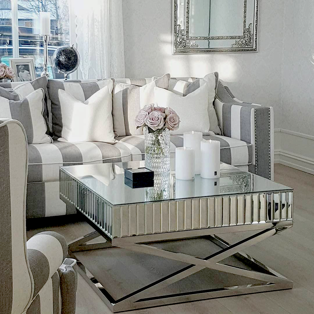 All Mirror Coffee Table.The Gatsby Classic Mirrored Coffee Table