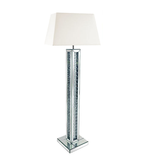 Floating Crystal 3 Dimensional Floorlamp