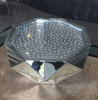 Floating Crystal Classic Mirror Coffee Table - Mirrored furniture - Sparkle Diamond - House of Sparkles