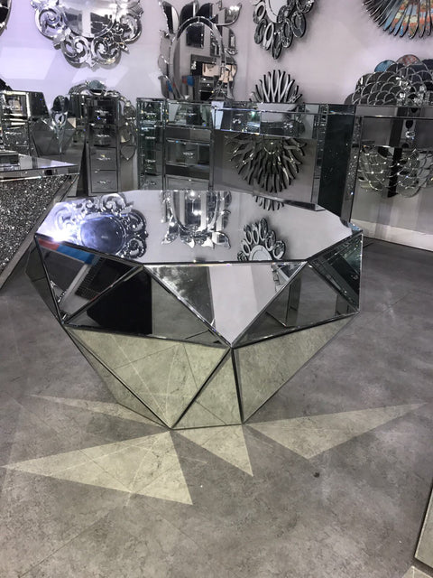 Classic Mirror Coffee Table - Mirrored furniture - Sparkle Diamond - House of Sparkles