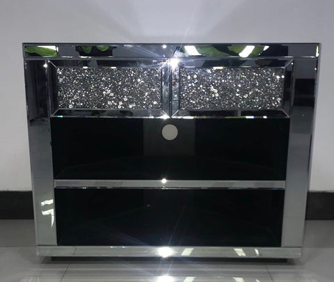 New Diamond Crush Corner Media Unit