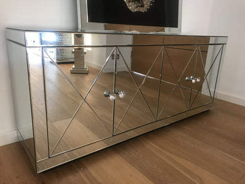 Image of Classic Mirror Living Bundle | HOS Home | Mirrored furniture | Affordable Luxury
