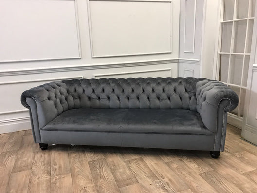 The Belvedere Velvet Sofa Range