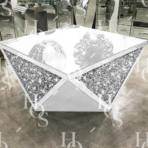 Image of White Mirror Crush Exclusive Coffee Table - PRE ORDER FOR JAN 2019