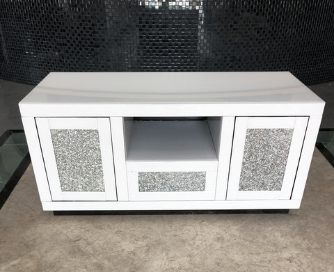 White Mirror Crush Media Unit