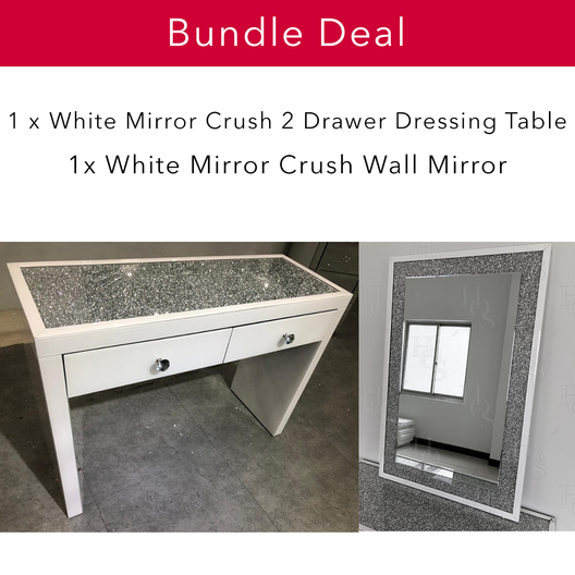 White Mirror Crush Glam Bundle