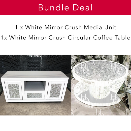 White Mirror Crush Living Bundle