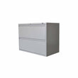 GLOBAL 2-DRAWER FIXED FRONT METAL LATERAL FILE