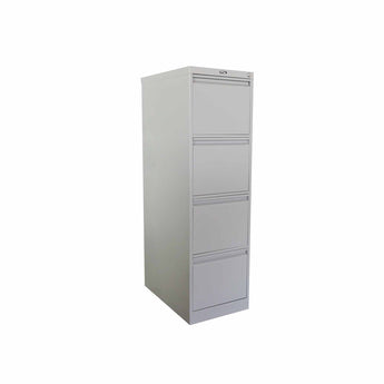 GLOBAL 4-DRAWER LETTER SIZE VERTICAL FILE