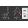 CERBERUS RACING GAMING CHAIR WITH ERGONOMIC LUMBAR SUPPORT