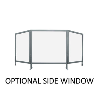 OPTIONAL INVISIBLE SIDE WINDOW