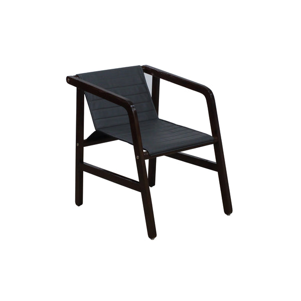VINTAGE-DESIGN SOLID WOOD GUEST VISITOR CHAIR