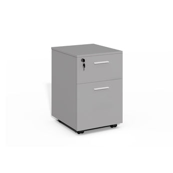 MOBILE HEAVY-DUTY BOX & FILE PEDESTAL
