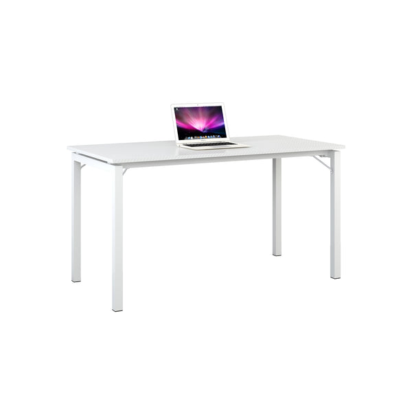 MINIMALISTIC HOME OFFICE STEEL FRAME TABLE DESK