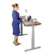 SIT-TO-STAND HEIGHT-ADJUSTABLE TABLE WITH MEMORY CONTROLLER-MATRIX-OFXoffice