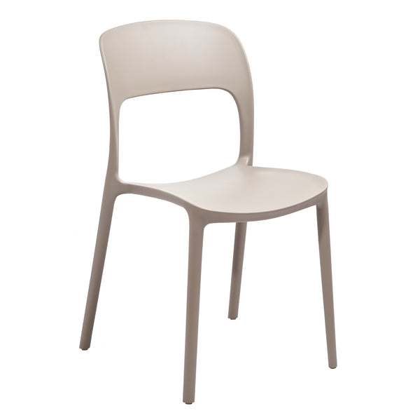 FORTE COMMERCIAL GRADE FIBERGLASS-COMPOSITE STACKING CHAIR