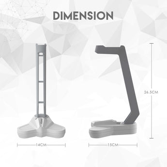FANTECH AC3001 HEADSET STAND - WHITE SPACE EDITION