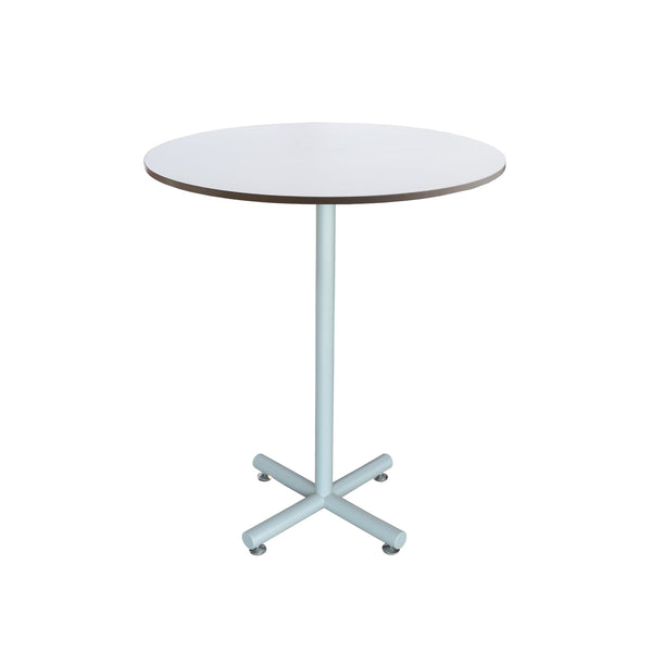 "36"" ROUND TOP HIGH TABLE WITH ALUMINUM FRAME"
