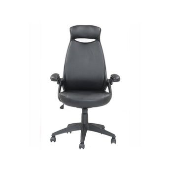 FIT HIGH-BACK UPHOLSTERED GAMING CHAIR WITH RETRACTABLE ARMS